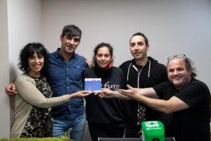 Teasombro Radio y el grupo musical Vaquero